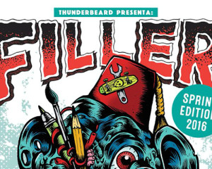 Filler, tre giorni di arte, skate, illustrazione e grafica punk
