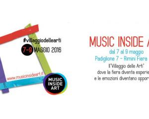 Music Inside Art a Rimini, dal 7 al 9 maggio