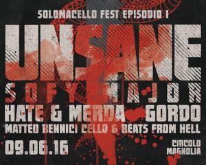 I dettagli di SoloMacello Fest 2016: Unsane, Napalm Death, Cattle Decapitation…