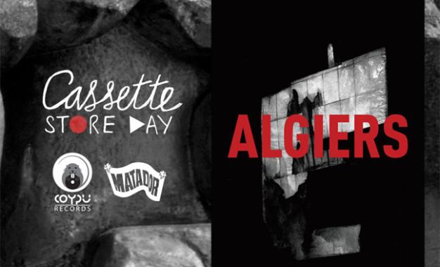 Due date italiane e ristampa in cassetta per gli Algiers
