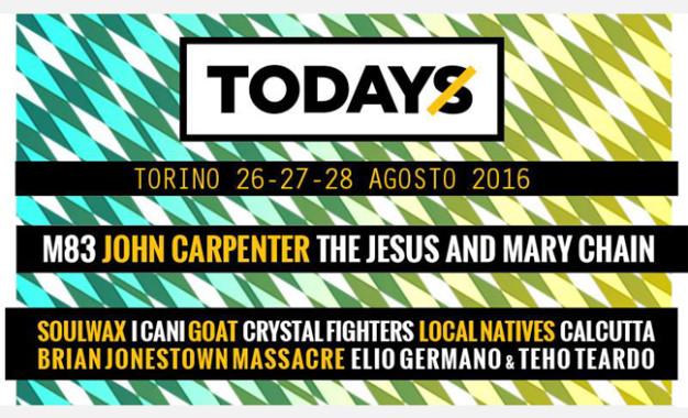 Tutti i dettagli di TOdays Festival 2016