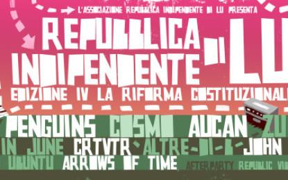 Scarica in free download la compilation del festival Repubblica Indipendente di Lu
