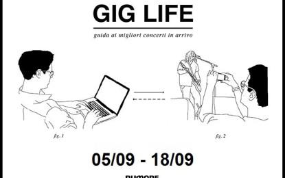 GIG LIFE: Guida ai migliori concerti in arrivo (05/09 – 18/09)