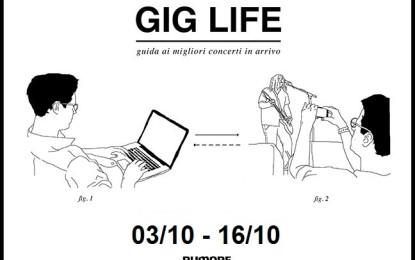 GIG LIFE: Guida ai migliori concerti in arrivo (03/10 – 16/10)