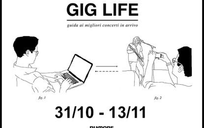 GIG LIFE: Guida ai migliori concerti in arrivo (31/10 – 13/11)
