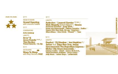 Il programma completo e gli orari del Club To Club 2016