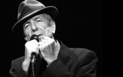 È morto Leonard Cohen