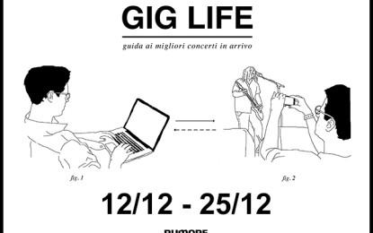 GIG LIFE: Guida ai migliori concerti in arrivo (12/12 – 25/12)