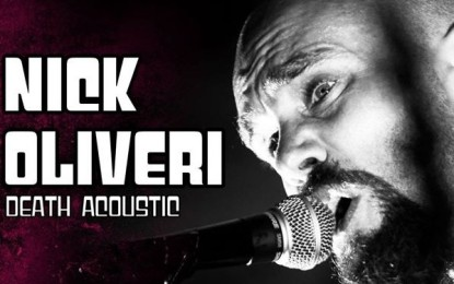 Nick Oliveri in Italia a febbraio