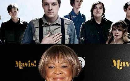 Ascolta: Arcade Fire, I Give You Power (feat. Mavis Staples)