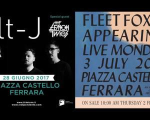 Fleet Foxes, Alt-J e Lemon Twigs sono i primi nomi del Ferrara Sotto Le Stelle