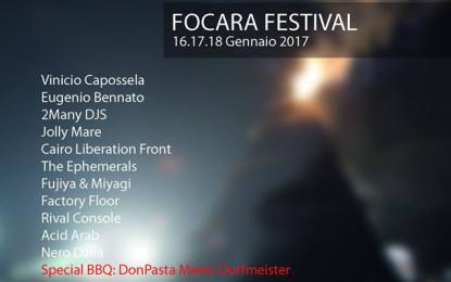 Il programma del Fòcara Festival a Novoli (LE)