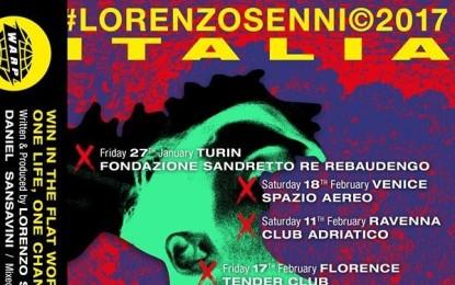 Lorenzo Senni in Italia per il Persona Live – Italian Tour