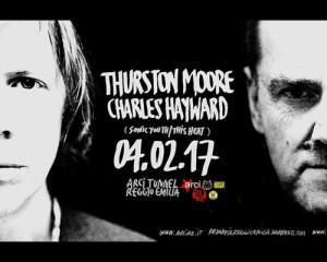 Contest: Vinci due biglietti per Thurston Moore e Charles Hayward a Reggio Emilia