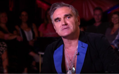Ascolta il nuovo singolo di Morrissey, Jacky's Only Happy When She's Up on the Stage