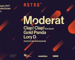Primi nomi dalla line-up dell'Astro Festival 2017
