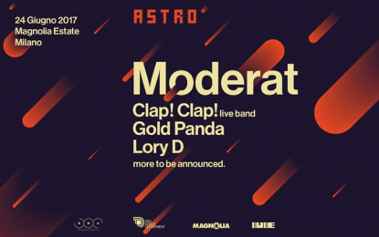 Primi nomi dalla line-up dell'Astro Festival 2017