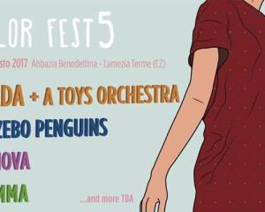 I primi annunci del Color Fest di Lamezia Terme
