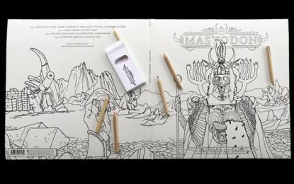 Mastodon: un album da colorare