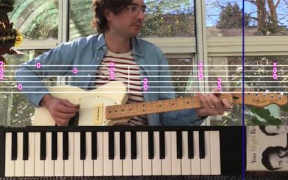 I Real Estate vi insegnano a suonare il loro nuovo brano Stained Glass