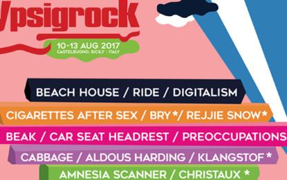 Nuovi nomi per la line up dell'Ypsigrock 2017