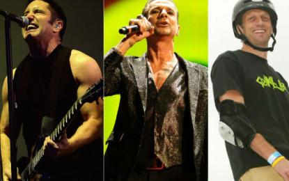 L'amore di Trent Reznor e Tony Hawk per i Depeche Mode