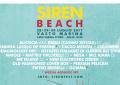 Il programma completo di Siren Beach 2017