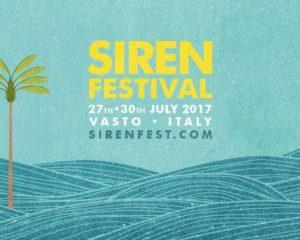 Le vacanze iniziano col Siren Festival