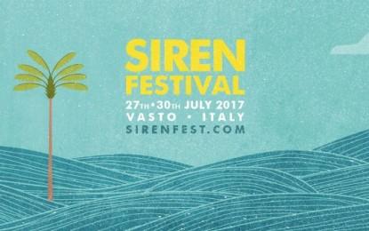 Siren Festival: si completa il programma