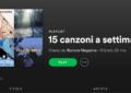 15 canzoni a settimana – (18/9 – 24/9)