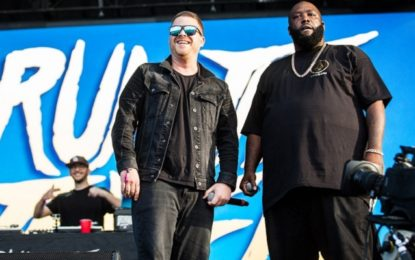 Il live dei Run the Jewels al Lollapalooza