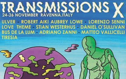 La line-up del Transmissions Festival X