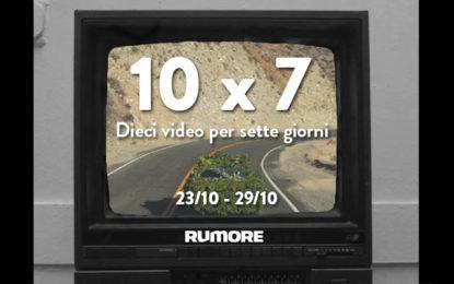 10×7: dieci video per sette giorni (23/10 – 29/19)