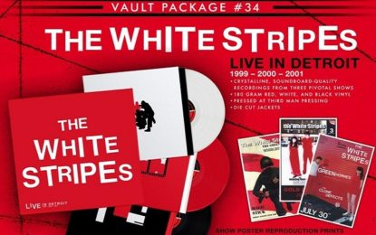 White Stripes: il triplo album live