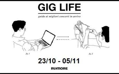 GIG LIFE: Guida ai migliori concerti in arrivo (23/10 – 05/11)