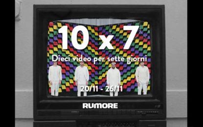 10×7: dieci video per sette giorni (20/11 – 26/11)