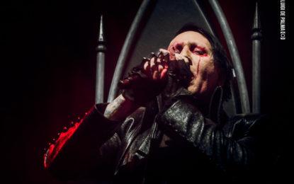 Le foto di Marilyn Manson al Pala Alpitour di Torino – 22/11/2017