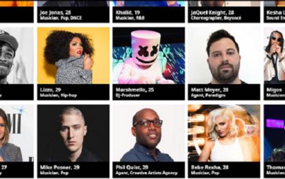 Travis Scott, Migos, Young Thug e gli altri musicisti nei 30 Under 30 di Forbes