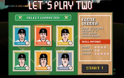 Giocate a baseball coi Pearl Jam con il videogioco di Let's Play Two