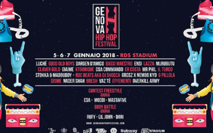 Contest: vinci due abbonamenti per il Genova Hip Hop Festival