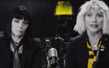 Blondie: guarda l'apocalittico video con Joan Jett