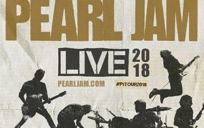Pearl Jam, è ufficiale: tre concerti in Italia nel 2018