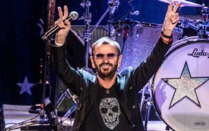 Ringo Starr in Italia per tre concerti