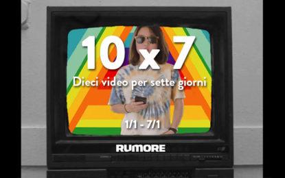 10×7: dieci video per sette giorni (1/1 – 7/1)