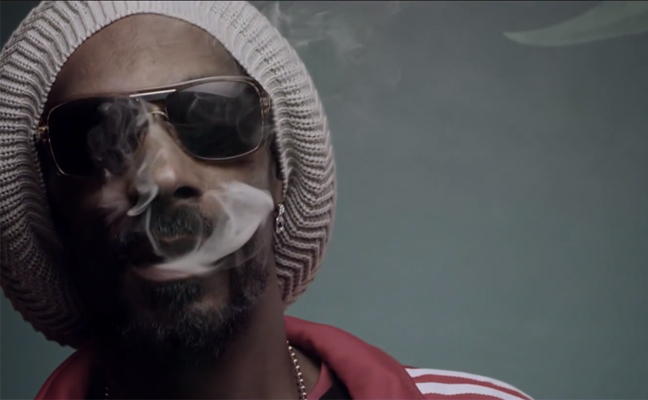 snoop lion weed