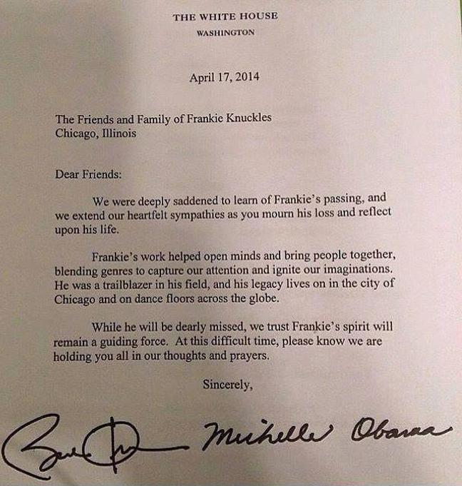 frankie knuckles lettera