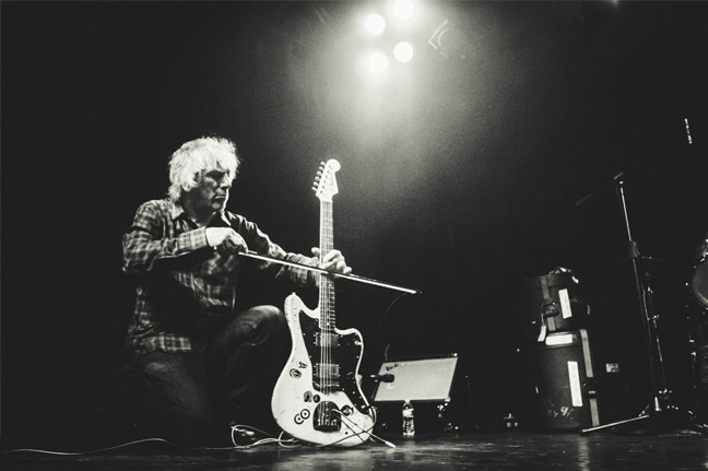 Lee ranaldo - Photos by Jake Giles Netter