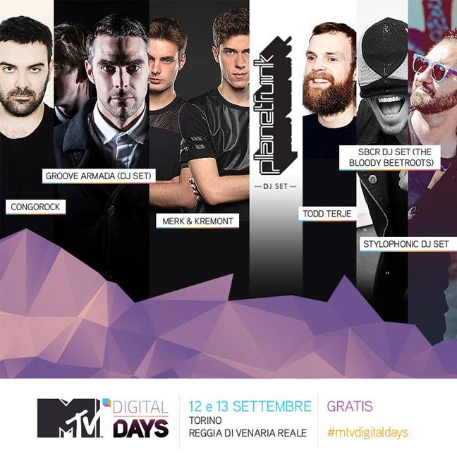 MTV digital day 2014 line up definitiva