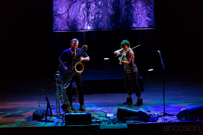 Colin Stetson and Sarah Neufeld live at Islington Assembly Hall,