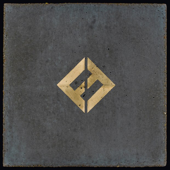 foo fighters concrete gold album cover